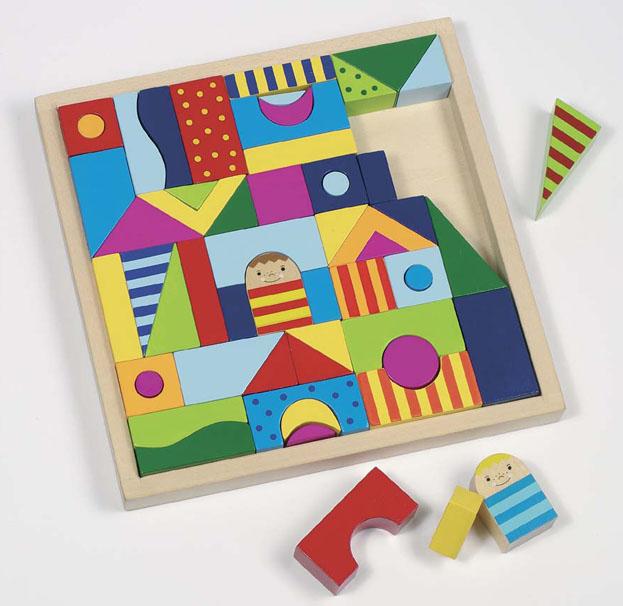 shalimar holz legespiel baukl tze montessori bausteine baukasten holzbaukl tze ebay. Black Bedroom Furniture Sets. Home Design Ideas